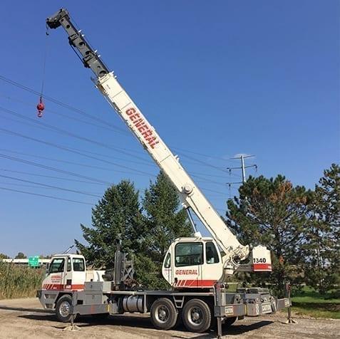 crane rental in Cleveland Ohio truck crane