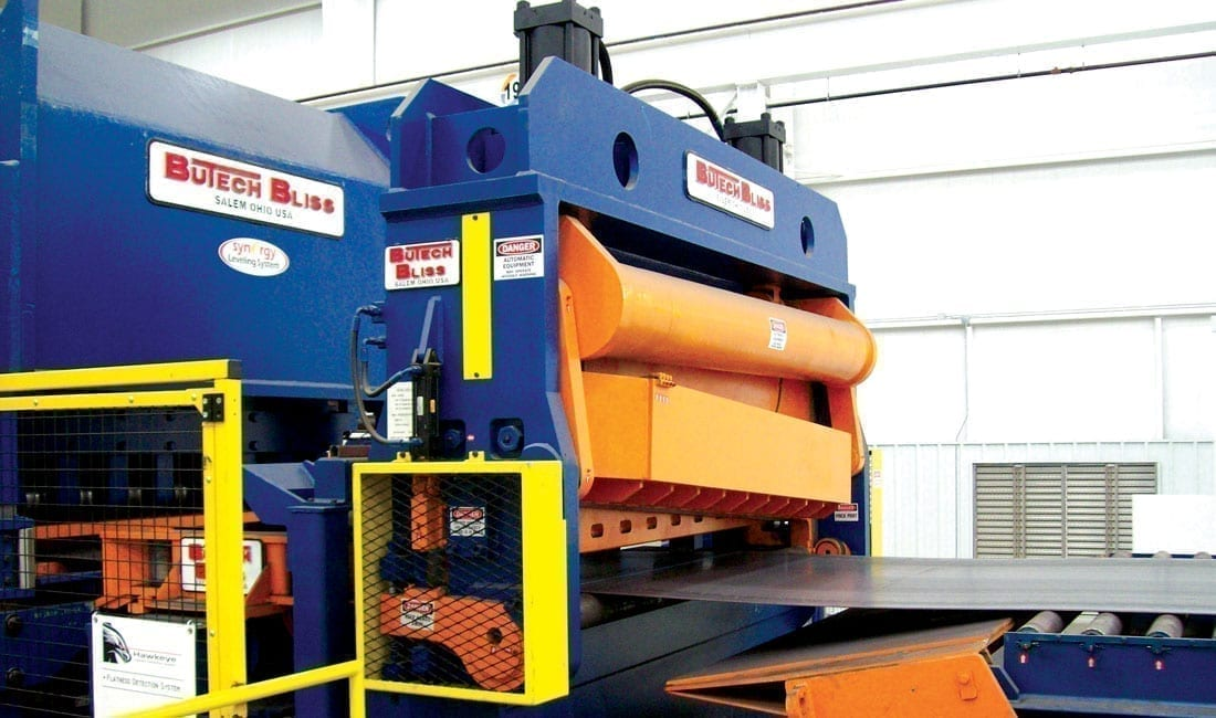 Coil cut to length machinery